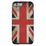 Grunge Reino Unido Flagcase del vintage