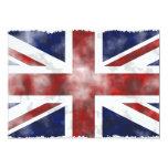 Grunge Reino Unido Invitación 12,7 X 17,8 Cm