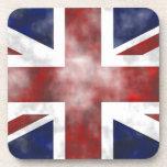 Grunge Reino Unido Posavasos De Bebidas