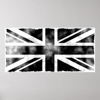 Grunge Reino Unido Poster