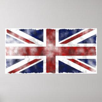 Grunge Reino Unido Posters