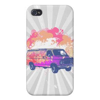 grunge retro hippie van iPhone 4/4S covers