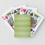 Grunge Retro Horizontal Lines Poker Cards