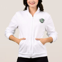 Grunge Ribbon and Wings Gastroparesis Jacket