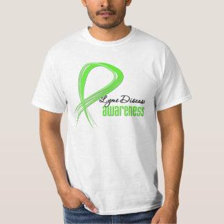 Grunge Ribbon Lyme Disease Awareness Shirt