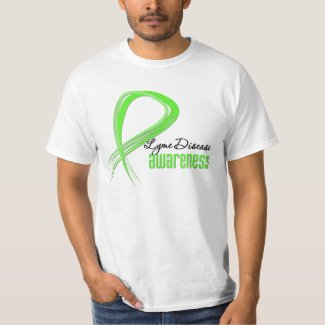 Grunge Ribbon Lyme Disease Awareness Shirt