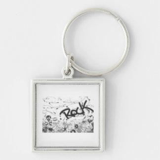 Grunge Rock Keychain