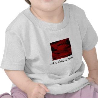 Grunge, rojo camiseta