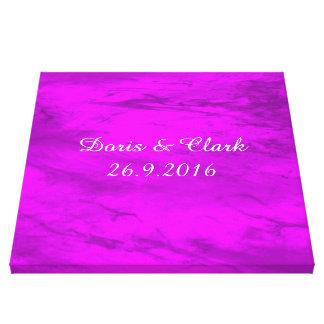 Grunge, rosa impresión en lienzo estirada