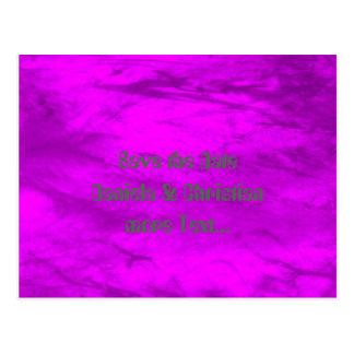 Grunge, rosa postales