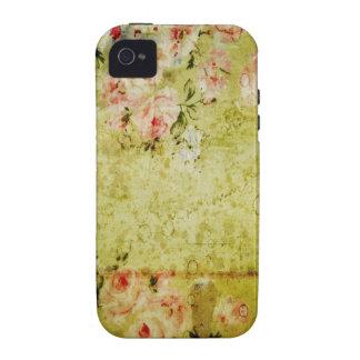 Grunge Rose Wallpaper iPhone 4 Case