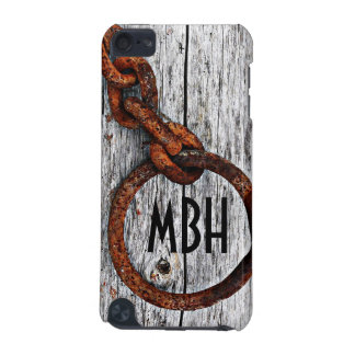 Grunge Rusty Metal Chain - Personalized! iPod Touch (5th Generation) Cover