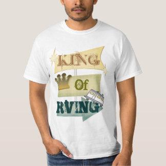 Grunge RV Camping / RVING Man T-shirt