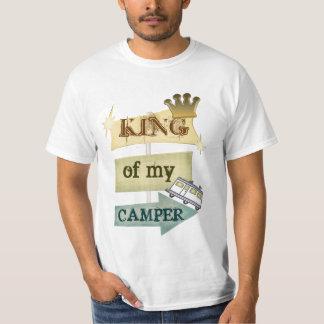 Grunge RV Camping / RVING Man Tee Shirt