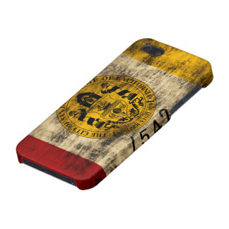 Grunge San Diego Flag iPhone SE/5/5s Cover