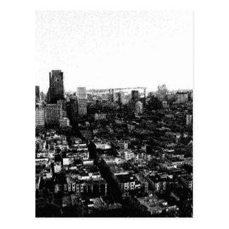 Grunge San Francisco Tarjetas Postales