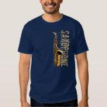 Grunge Saxophone T-Shirt
