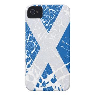 Grunge Scottish Flag iPhone 4 Case-Mate Cases