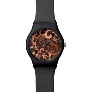 Grunge Scroll Fleur Watch