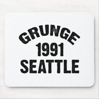GRUNGE SEATTLE 1991 MOUSE PAD