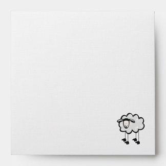 Grunge Sheep Envelope