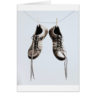Grunge Shoes Card