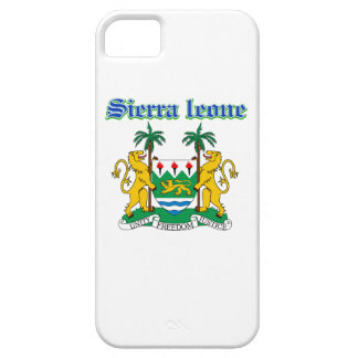 Grunge Sierra Leone coat of arms designs iPhone 5 Cases