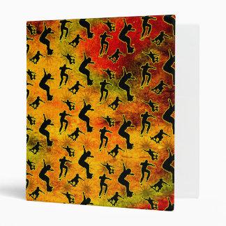 Grunge Skateboarding Vinyl Binder