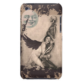 Grunge Skeleton and Angel iPod Case-Mate Case