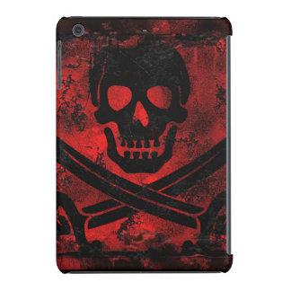Grunge Skull and Cross Swords Creepy Artwork iPad Mini Retina Cover