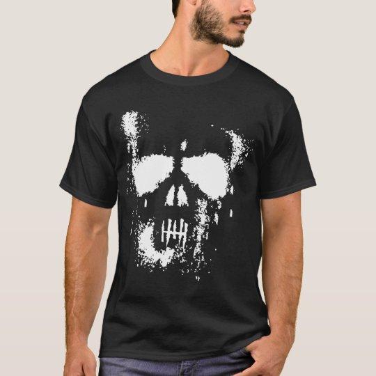 Grunge Skull (Dark) T-Shirt