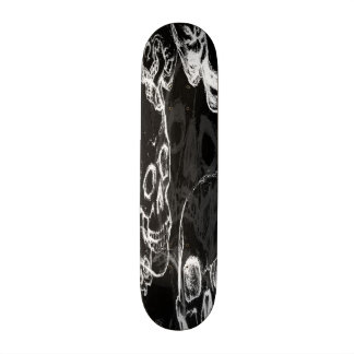 Grunge Skull Deck Skate Deck