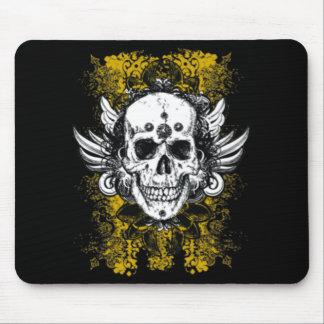 Grunge Skull Mouse Pad