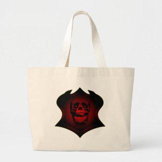 Grunge Skull Tattoo & Shield Bags