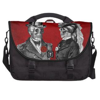 Grunge Skull Wedding & Anniversary Party Commuter Bag