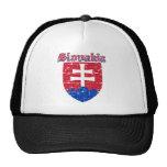 Grunge Slovakia coat of arms designs Trucker Hat