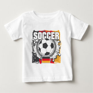 Grunge Soccer Germany Baby T-Shirt