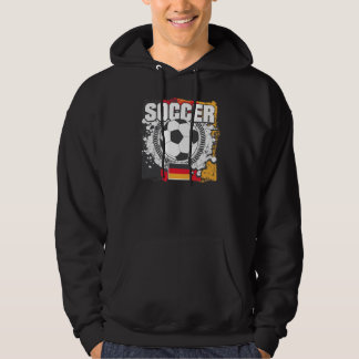 Grunge Soccer Germany Sweatshirt