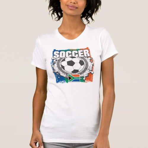 Grunge Soccer South Africa Shirt