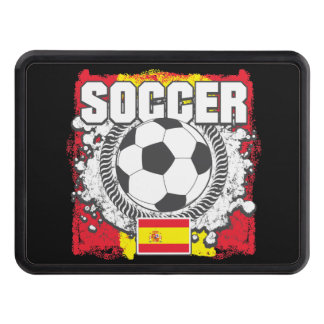 Grunge Soccer Spain Tow Hitch Cover