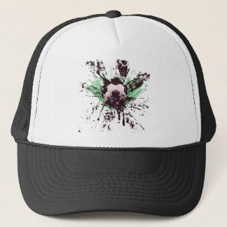 Grunge Soccer Trucker Hat