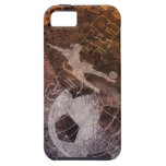 Grunge Soccer - Women iPhone 5 Cover