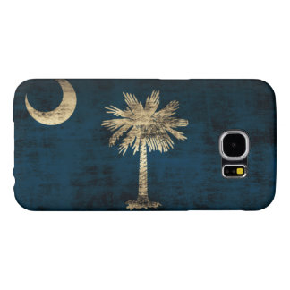 Grunge South Carolina Flag Samsung Galaxy S6 Case