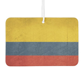 Grunge sovereign state flag of country of air freshener