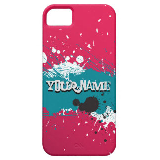Grunge Splatter Graffti iPhone SE/5/5s Case