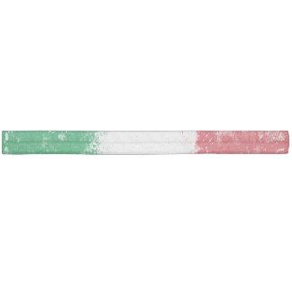 Grunge Splatter Painted Flag of Italy Elastic Hair Tie