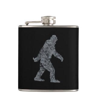 Grunge Squatchin Bigfoot Style Flask