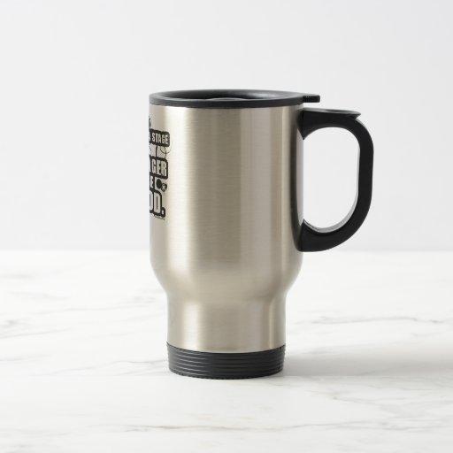 Grunge Stage Manager God 15 Oz Stainless Steel Travel Mug