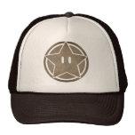 Grunge star trucker hat