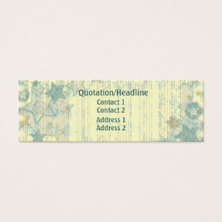 Grunge Stars and Stripes Profile / Business Card